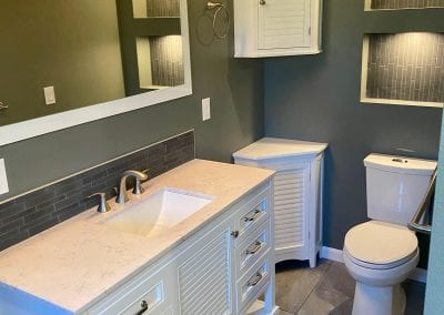 Evergreen Valley Construction Home Remodeling Contractors Bathroom Remodel Sink